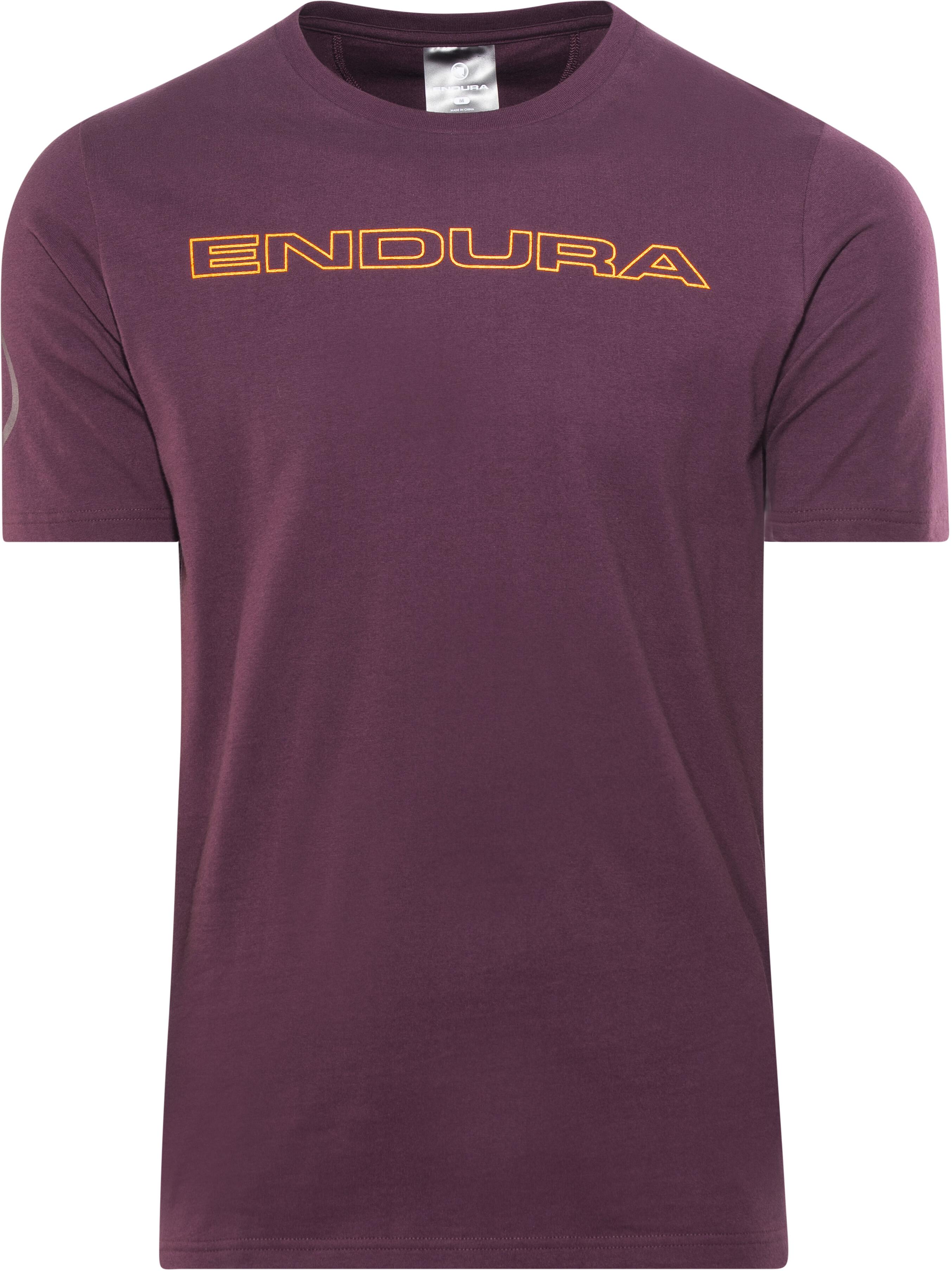 daa00c350371a Endura One Clan Carbon T-Shirt violett - till fenomenalt pris på ...